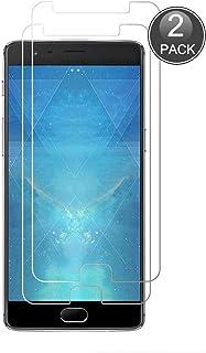 OnePlus 3に互換(ブラック) 液晶保護フィルム 強化ガラス E-Hamii 高透過率 超薄 保護フィルム スクラッチ防止 指紋防止