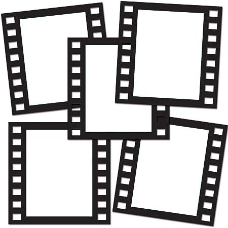 Beistle 58047 Filmstrip - Marco para fotos (30,5 cm), color negro