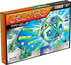Geomag 464 Classic Panels Magnetic Building Set, 192 Pieces