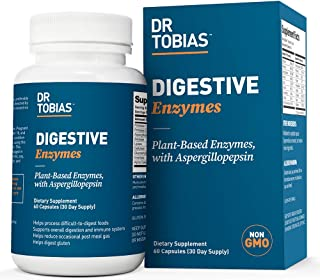 Dr. Tobias Digestive Enzymes Supplement, 60 Capsules