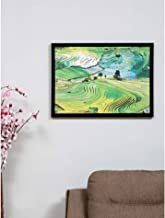 @home by Nilkamal Lush Green Mountains 50X70CM Picture Frame, Green