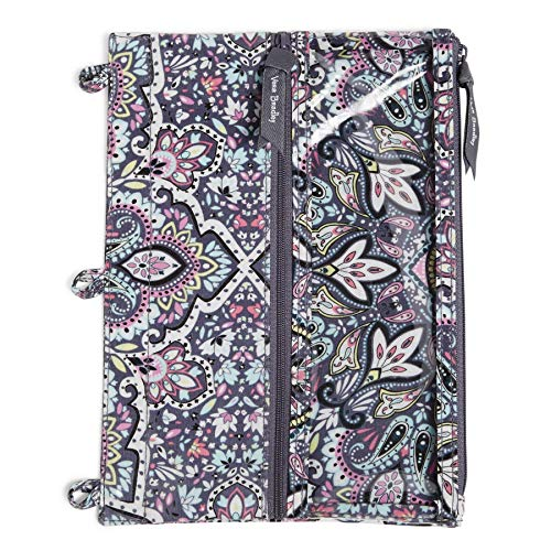 Vera Bradley Women's Pencil Case, Bonbon Medallion