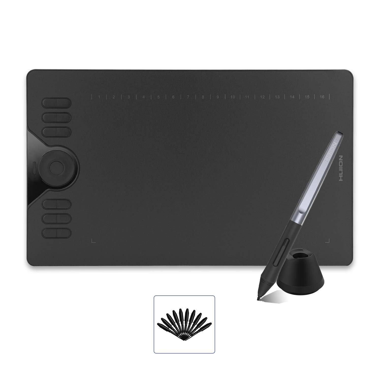 HUION HS610 Battery Free Sensitivity 10x6 25inch