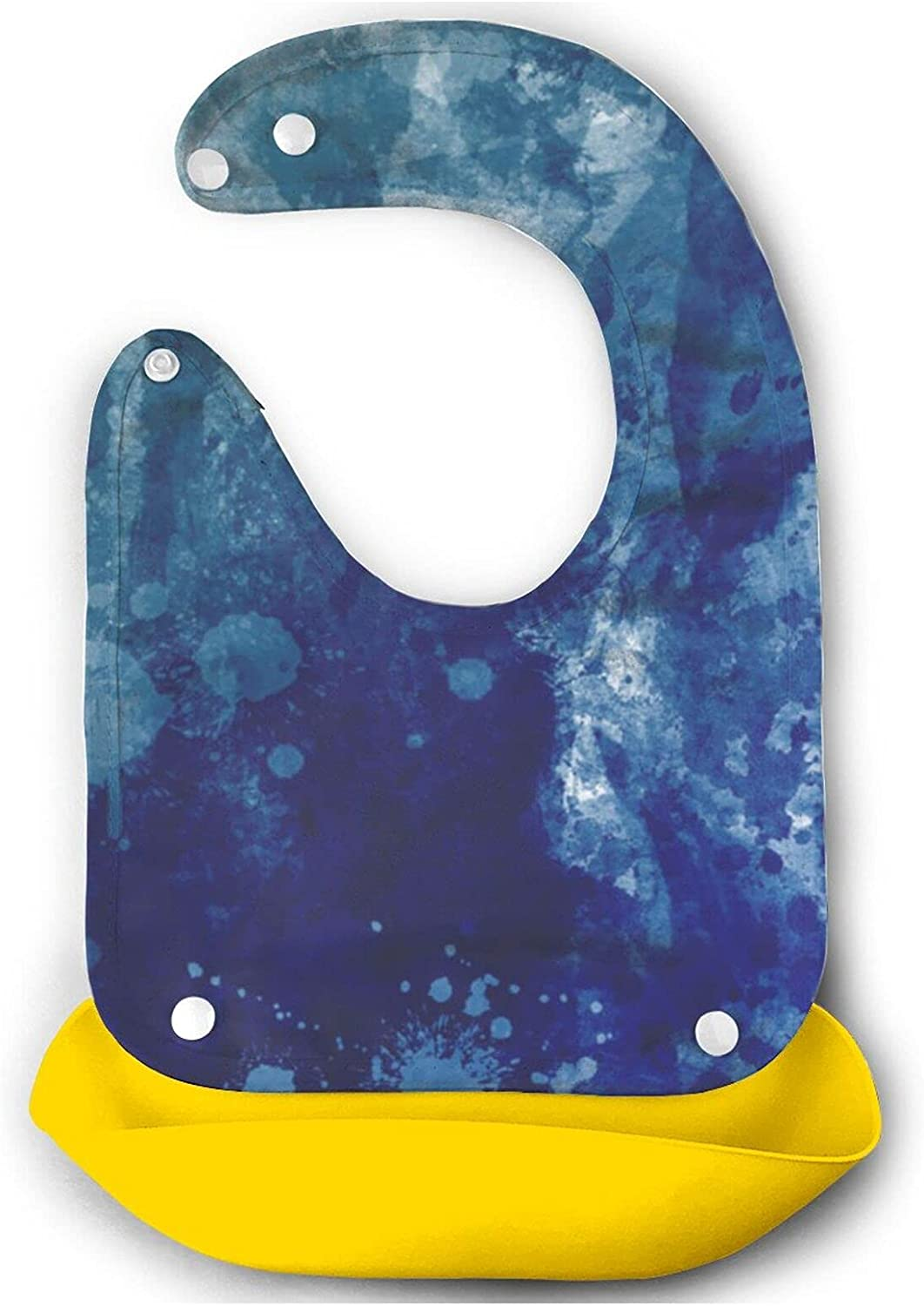 Beautiful Blue Watercolor Baby 70% OFF Outlet Bib Cute For Toddlers Babies M Animer and price revision