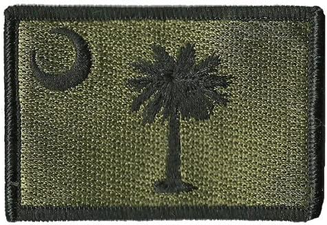 South Carolina Tactical Patch Olive Drab New mail Large discharge sale order -