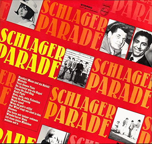 Schlagerparade Nr. 23 / 1966 / Bildhülle / Philips # 843 556 PY / 843556 / Deutsche Pressung / 12 Zoll Vinyl Langspiel-Schallplatte / Heidi Brühl / Roy Etzel / Gerhard Wendland / Die Rosy-Singers / The Rattles / Rob de Neys / Vicky / Vico Torriani / Dave Dee, Dozy, Beaky, Mick, and Tich / Peter Beil / The Spencer Davis Group / Johnny Reimar / Michael Maien /