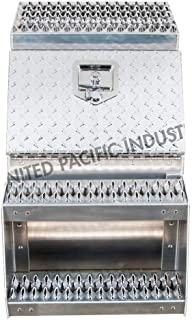 Heavy Duty Aluminum Semi Truck Side Storage Saddle Step Box / 18