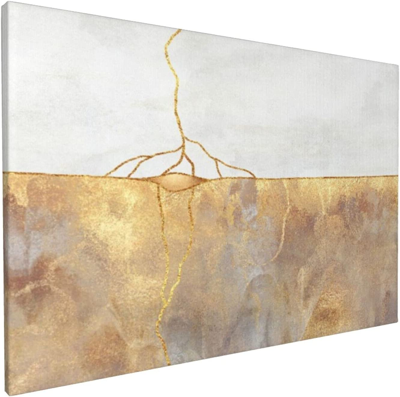 New life Canvas Wall Art Oil Selling rankings Painting Office Home Abstract Decor Gol Gold