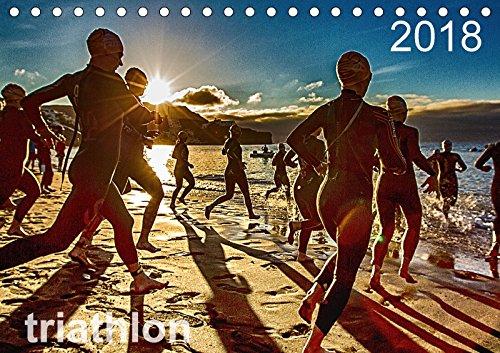 TRIATHLON 2018 (Tischkalender 2018 DIN A5 quer): Triathlon Kalender 2016 (Monatskalender, 14 Seiten ) (CALVENDO Sport) [Kalender] [Apr 01, 2017] Kutsche, Ingo