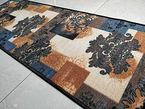Grigio Decor Area tappeto pavimento in poliestere Tappeto Super Assorbente Eco-friendly in lattice antiscivolo Tappeti Per La Cucina camere da Letto S