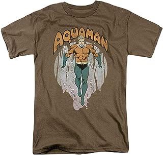 Aquaman DC Comics King of Atlantis T Shirt & Stickers