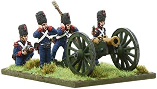 Black Powder: Napoleonic French Imperial Guard Foot Artillery firing howitzer