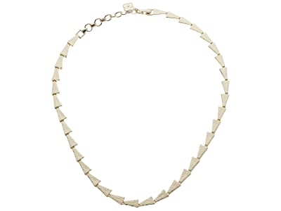 Kendra Scott Leon Collar Necklace (Gold Metal) Necklace