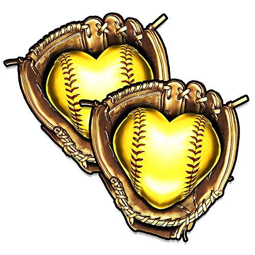 softball window decals - 7