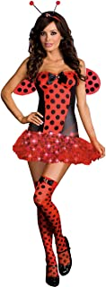 Dreamgirl Women's Light Me Up Ladybug Costume