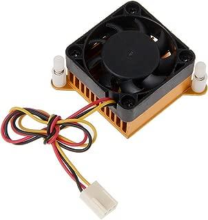 Yuanhaourty 40mm PC Cooling Fan Heatsink Northbridge Chipset Aluminium Cooler Heatsink for 3D Printer Cooling