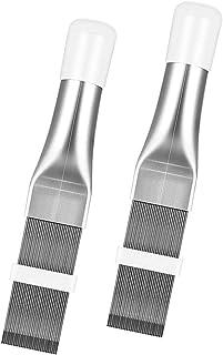 Acondicionador de aire de acero inoxidable, 2 unidades A/C, radiador universal