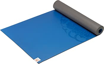 """Gaiam Yoga Mat - Premium 5mm Dry-Grip Thick Non Slip Exercise & Fitness Mat for Hot Yoga, Pilates & Floor Workouts (68"""" or..."""