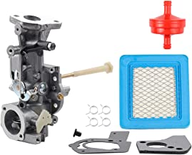 498298 Carburetor for Briggs & Stratton 692784 495951 492611 490533 495426 5HP w/Air Fuel Filter Gasket Parts Kit Engine Troy-bilt Rototiller Generac Generator Craftsman Tiller Power Washer Lawnmower