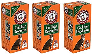 ARM & HAMMER Cat Litter Deodorizer Powder (3 Pack)