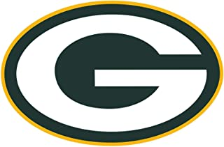 Green Bay Packers NFL Vinyl Sticker Decal for Laptops Lockers Bumpers Windows, 3 inch Wide