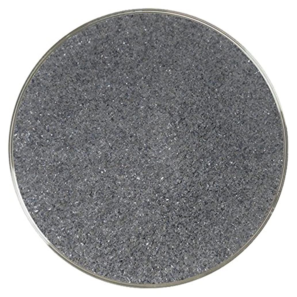 Charcoal Opalescent Fine Frit - 96COE - 4oz - Made from System 96 Glass