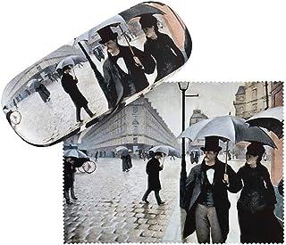 VON LILIENFELD Étui Lunettes Boîte Robuste Cadeau Étui Lunettes de Soleil Femme Homme Art Gustave Caillebotte: Paris sous ...