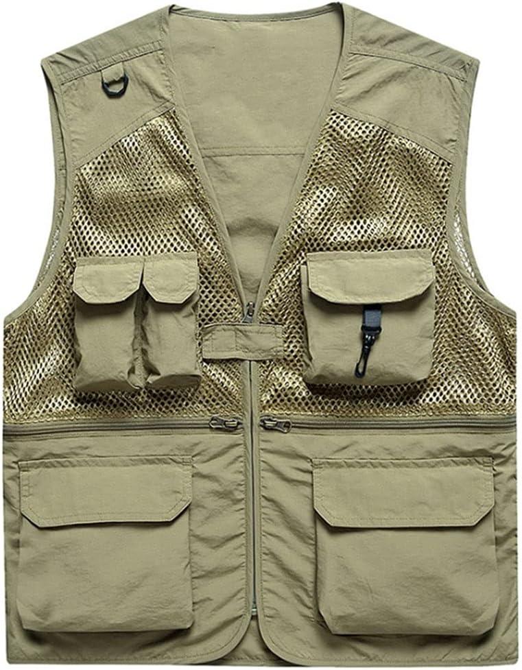 Max 81% OFF Atlanta Mall Fishing Vests for Men Waistcoats Vest Men's Mult