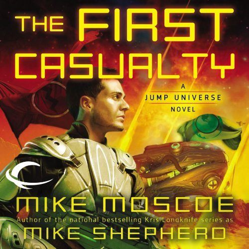 The First Casualty audiobook cover art
