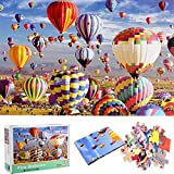 CHAOCHI Puzzle 1000 Piezas,Rompecabezas Adultos, Puzzle Rompecabezas Regalo para Niños Adultos ,Globo Aerostático Puzzle, Decoración Hogareña(70*50cm)