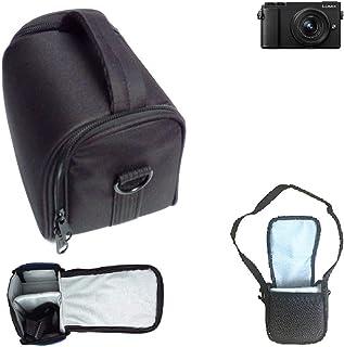 14-140mm,12-60mm Lens First2savvv Azul Funda C/ámara Reflex Neopreno Protectora para Panasonic Lumix DMC GX9 GX85 GX80 with QSL-GX9-C03G11