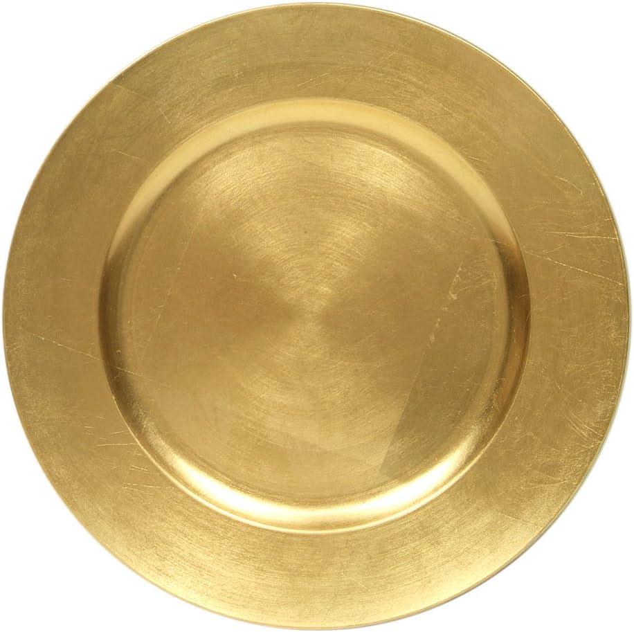 GOLD Fashion CHARGER 53314 SET OF 4 WEDDING HOLI Direct sale of manufacturer FOR GOOD HOME DECOR