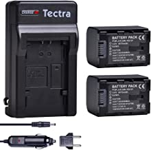 Tectra 2-Pack BN-VG121 Replacement Batteries and Charger for JVC GZ-E10 GZ-E100 GZ-E15 GZ-E200 GZ-E205 GZ-E208 GZ-E220 GZ-E225 as BN-VG107 BN-VG109 BN-VG114 BN-VG138