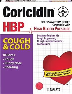 coricidin hbp for nasal congestion