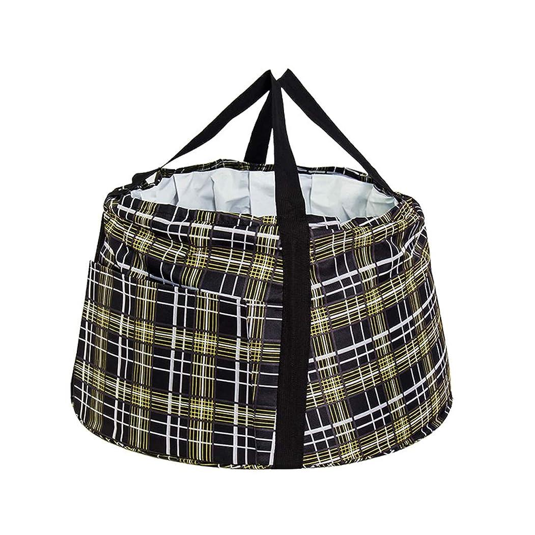 凝視アクセル必需品携帯用旅行屋外の洗面器の折るバケツ、キャンプのための軽量の漏出防止のキャンプ水容器袋の浸す洗面器、キャンプのためのハイキング旅行釣洗浄