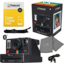 Polaroid 9010 OneStep+ i-Type Instant Camera Bundle with a Bundle with a Color i-Type Film Pack 4668 (8 Instant Photos) and a Lumintrail Cleaning Cloth