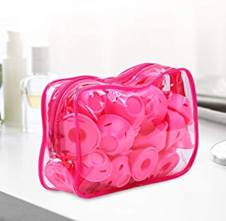 Silicone Women Sleeping Bell hairbruff Feature 40PCS Mushroom Hairstyle Roller Bag Easy to use Practical Hair Styling Tool...