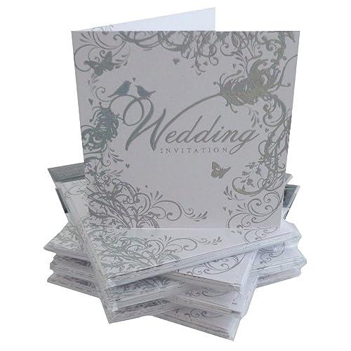 Wedding Invitation Cards Amazon Co Uk