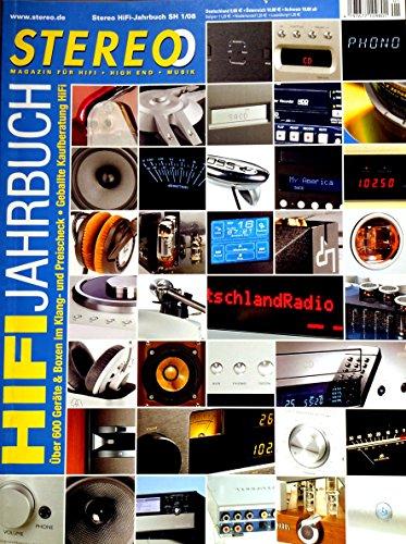 Das STEREO HiFi-Jahrbuch 2008. Über 600 Geräte und Boxen im Klang- und Preis-Check. Geballte Kaufberatung HiFi.
