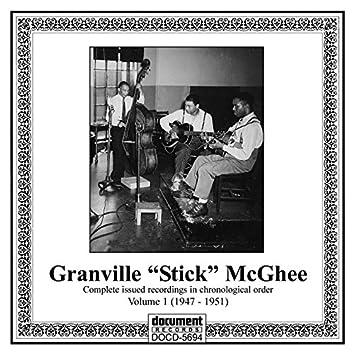 "Granville ""Stick"" Mcghee, Vol. 1 (1947-1951)"