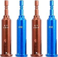 ULTECHNOVO 4 stycken kabelvridningsverktyg kabelskalare tång 1/4 batch-kabelterminaler elverktyg för avskalning och vridni...