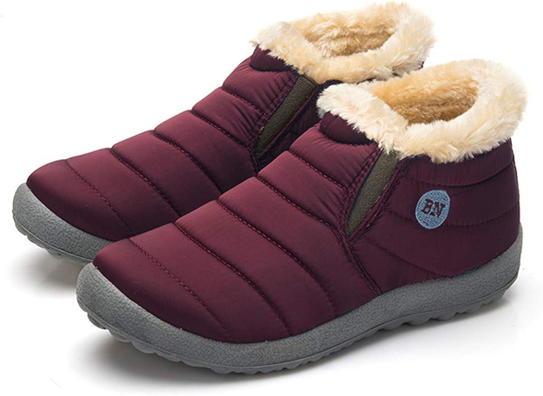 F1rst Rate Winter Snow Boots Women Men Warm Outdoor Anti-Slip Waterproof Walking shoes