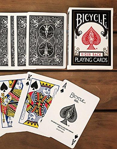 bicicletta nera rider 808 carte da gioco Bicycle Black Rider 808 Playing Cards