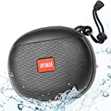 Altavoz Bluetooth Ducha, Altavoces Bluetooth Portatiles, Altavoz Bluetooth Inalámbrico 5.0 Estéreo TWS HD, 2400mAh 12 Horas de Juego, Impermeable IPX6 Micrófono incorporado soporte de radio FM TF, USB