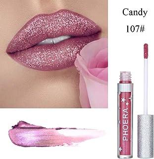Oksale® Matte To Glitter Liquid Lipstick Waterproof Lip Gloss Makeup Lip Glosscolor