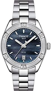 Tissot Women's PR 100 Sport Chic - T1019101112100 Black Mother-of-Pearl One Size