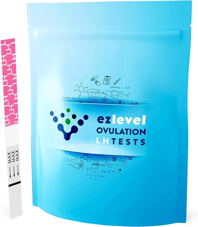 EZ LEVEL 20 Ovulation Test Strips Predictor Kit (20 Count)