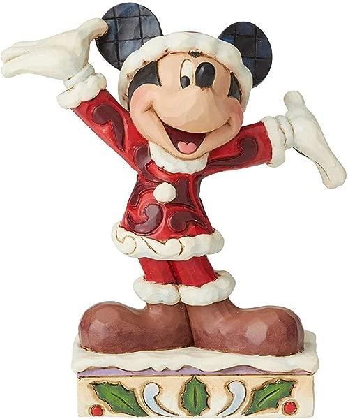 吉姆 · 乔尔的迪士尼传统圣诞米奇树脂多色均码