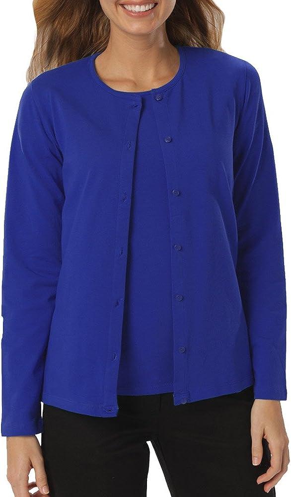 Blue Generation BG4701 - Ladies' Long Sleeve Button Front Cardigan