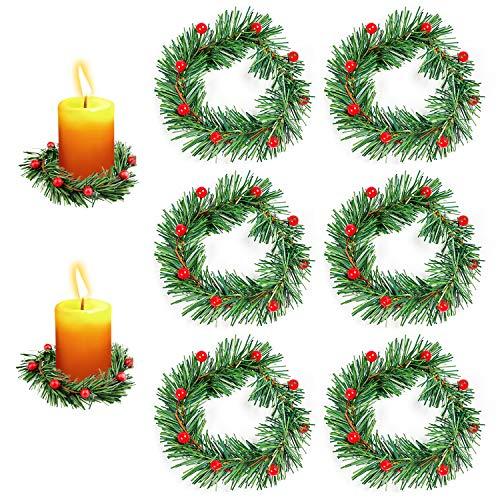 Vela Roja Navidad  marca